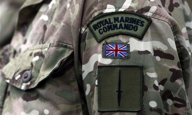 42 Commando Royal Marines, M company, reenactment group