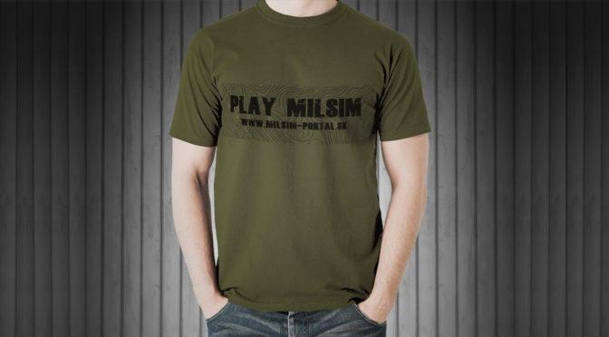 Tričko MilSim portál