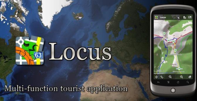 Turistická navigácia Locus